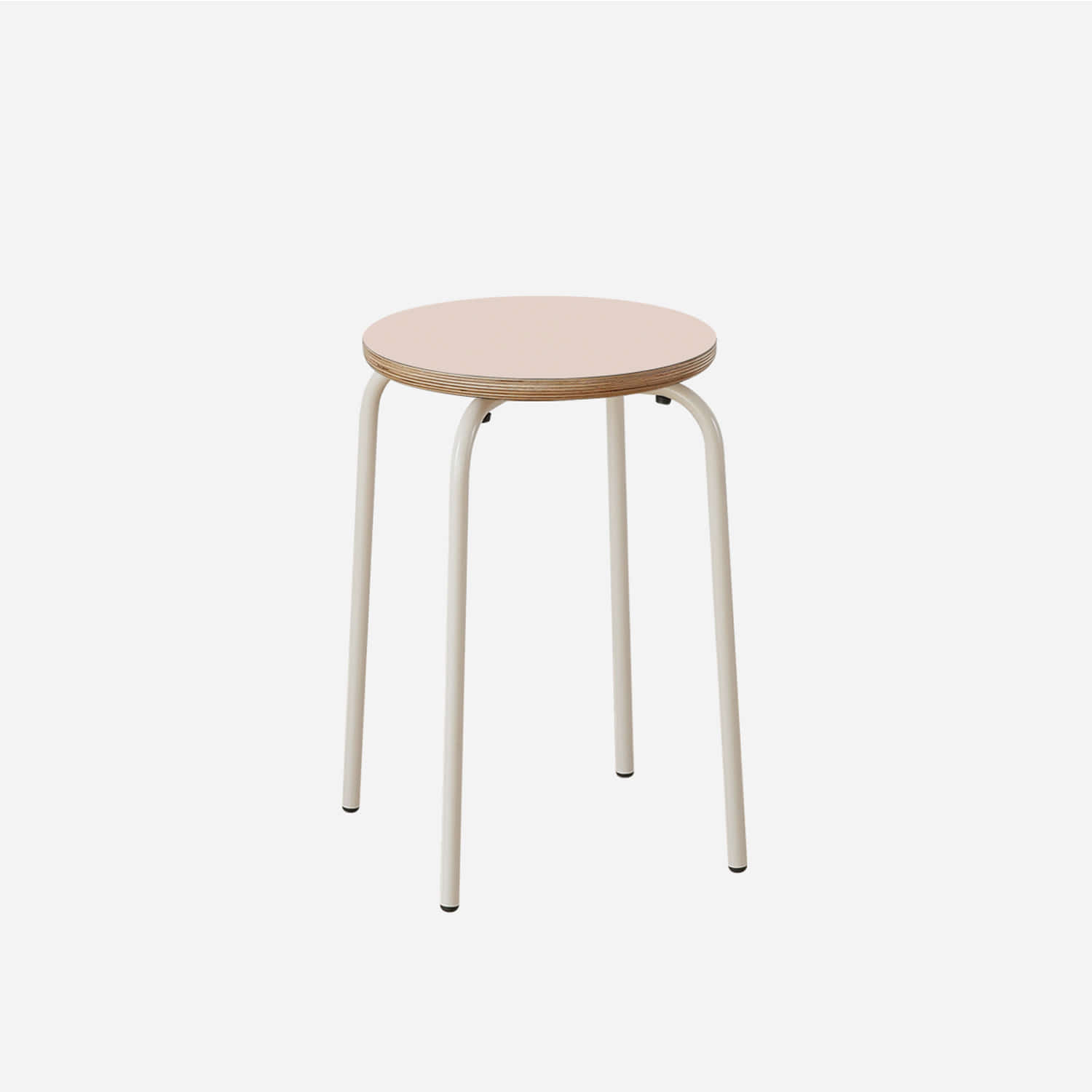 Lino Round Tube Stool