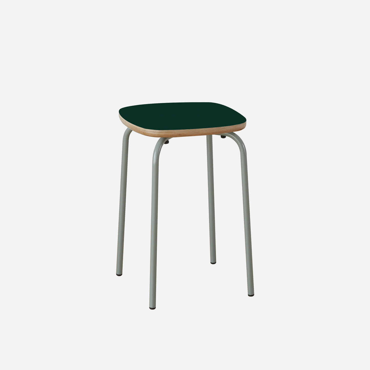 Lino Square Tube Stool