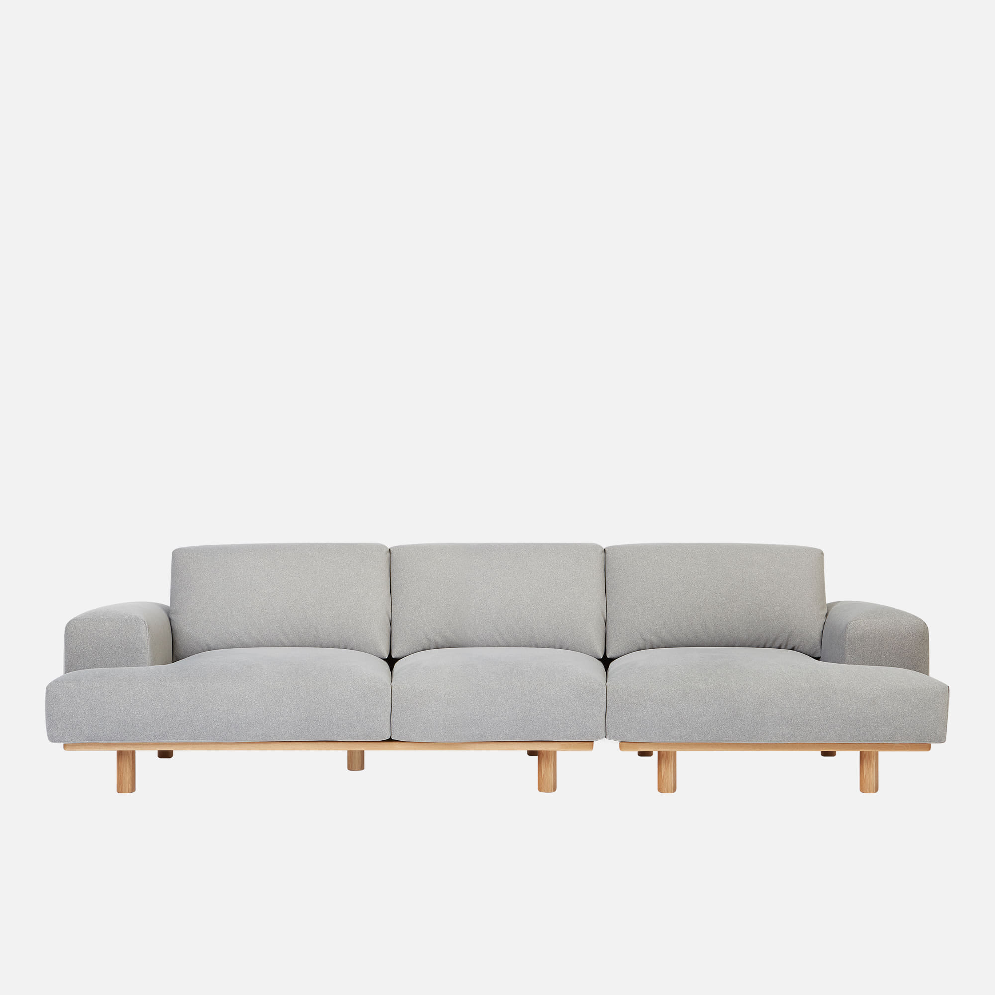 [얼리버드] Soft 3 unit Sofa