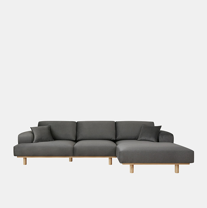 Soft 3 unit Couch Sofa L/R