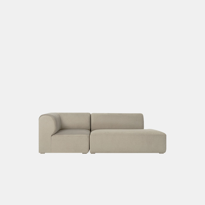 [프리오더] Mellow 2 unit Couch Sofa L/R
