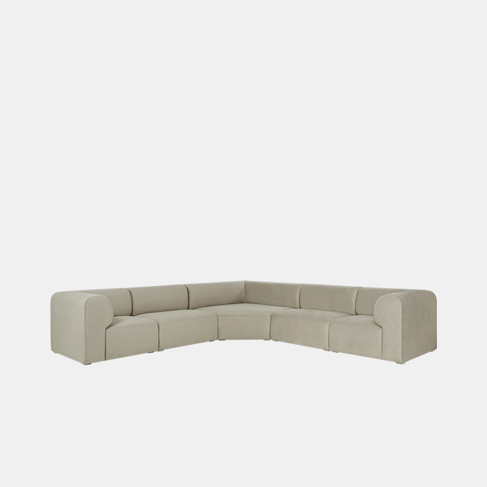 Mellow 5 unit Corner Sofa