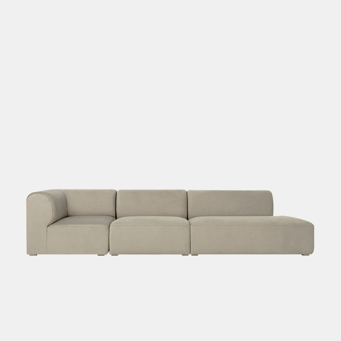 [프리오더] Mellow 3 unit Couch Sofa L/R