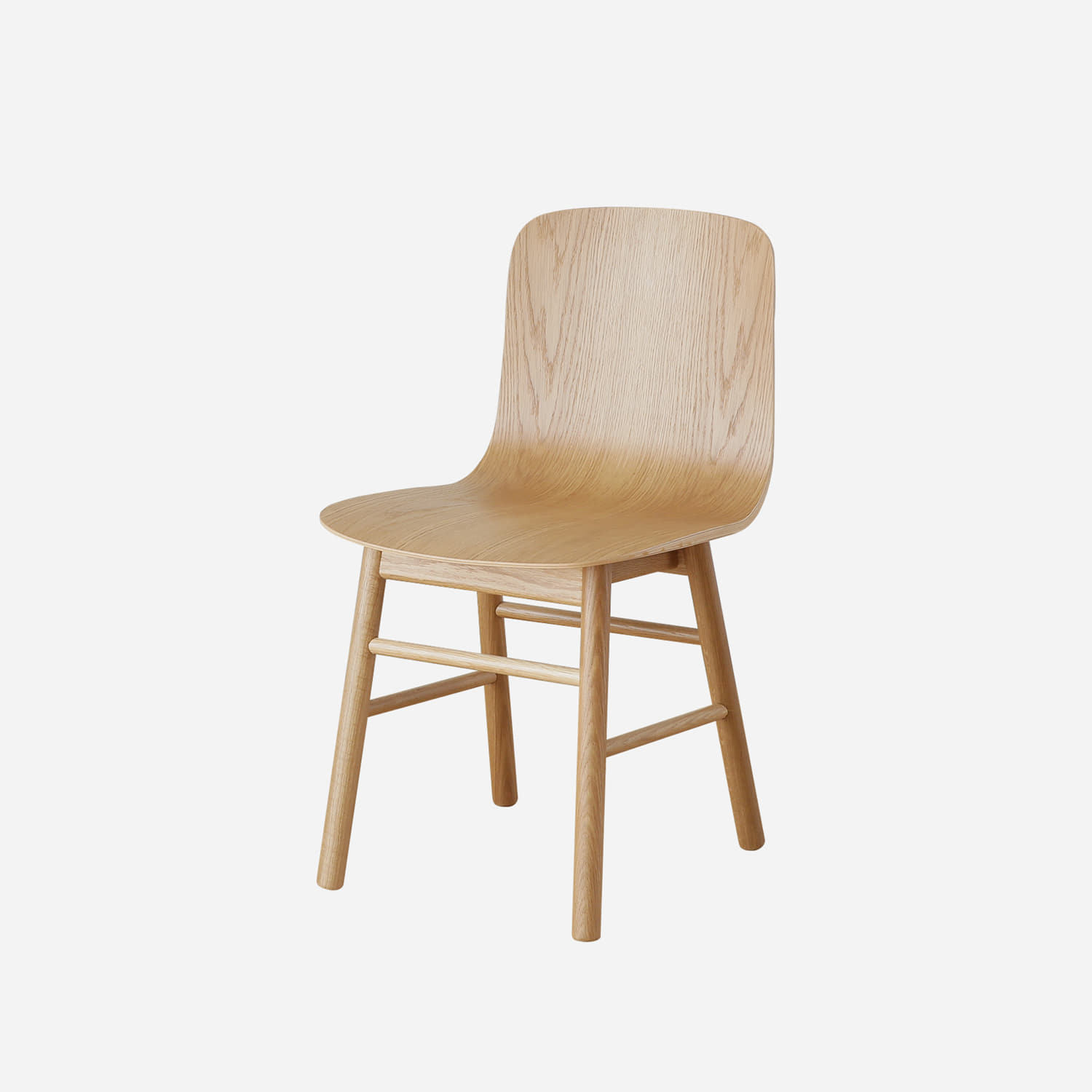 [프리오더] Oblique Stick Leg P1 Chair (manufactured by China)