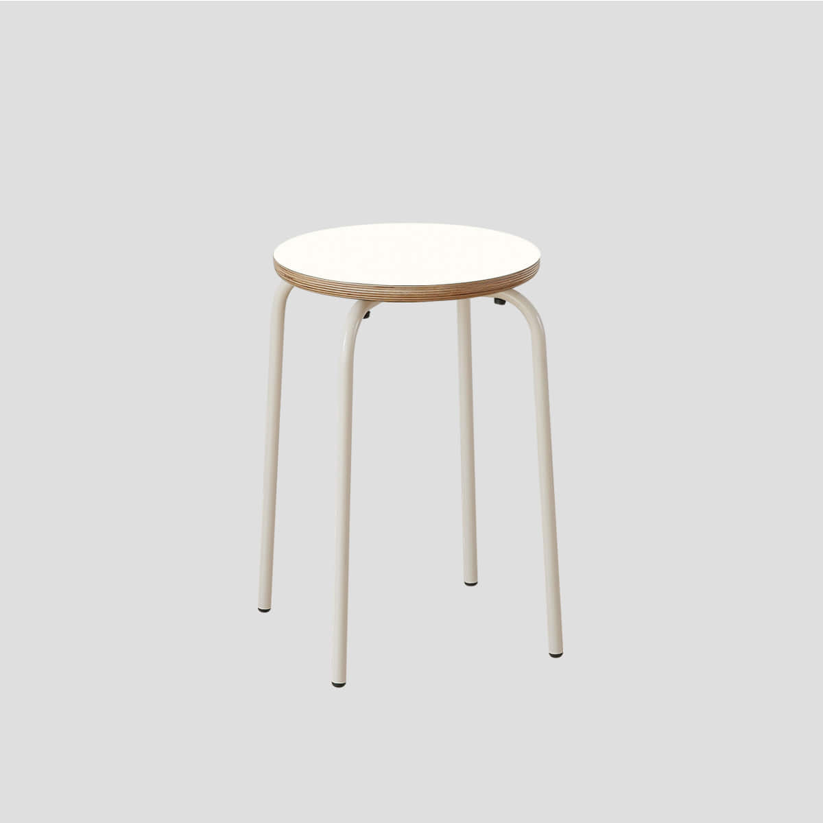 Nano Light Round Tube Stool