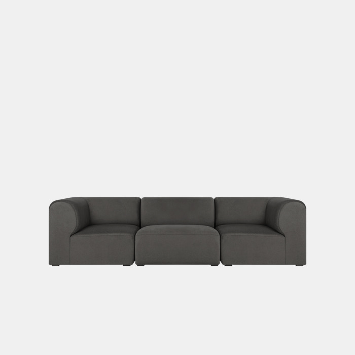 Mellow 3 unit Sofa