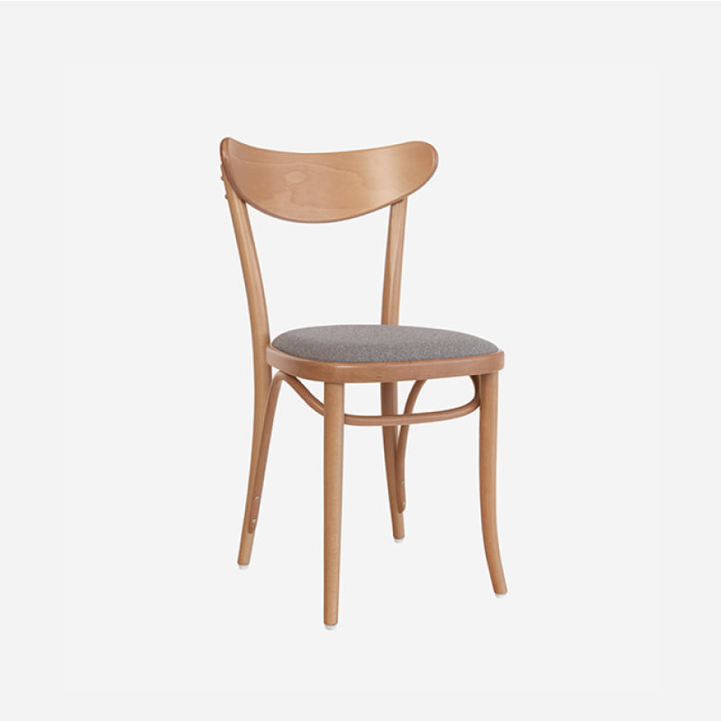 [다음주배송] Ton Chair Banana_ Natural/ Fabric Gray